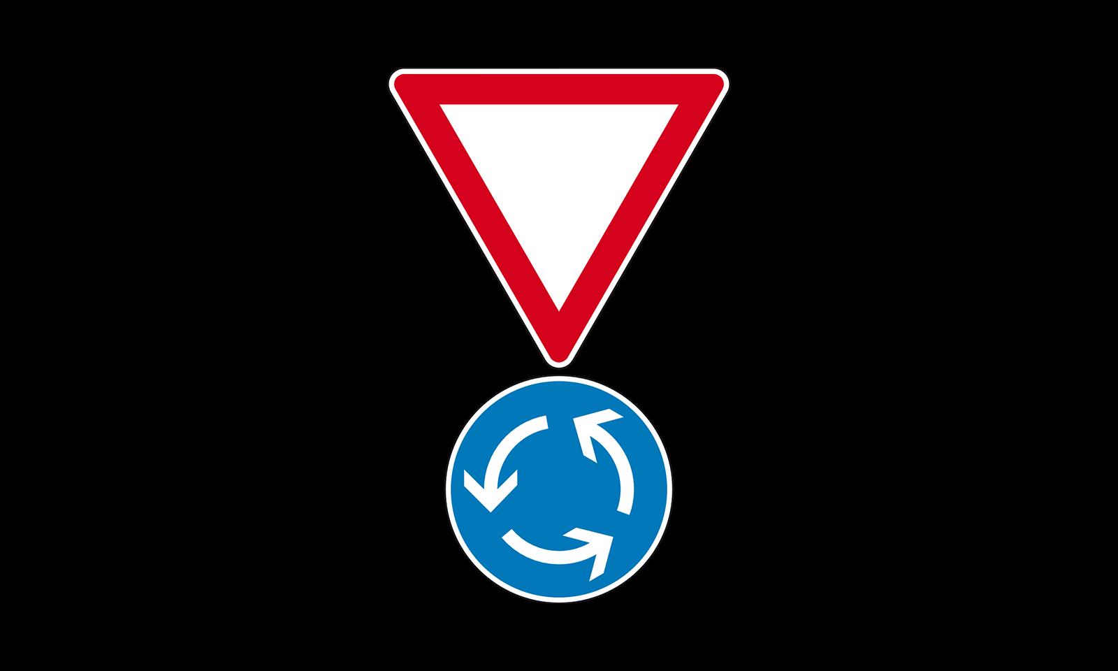 Wie Haben Sie Sich Bei Dieser Verkehrszeichen Kombination Zu